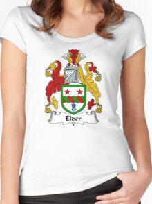 Elder Coat of Arms / Elder Family Crest Women's Fitted Scoop T-Shirt