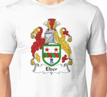 Elder Coat of Arms / Elder Family Crest Unisex T-Shirt