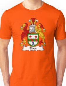 Elder Coat of Arms / Elder Family Crest Unisex T-Shirt