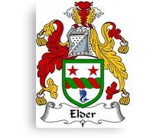 Elder Coat of Arms / Elder Family Crest Canvas Print