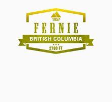 Fernie Ski Resort British Columbia Unisex T-Shirt