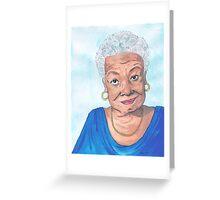 Maya Angelou, A Phenomenal Woman Greeting Card