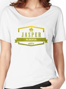 Jasper Ski Resort Alberta Women's Relaxed Fit T-Shirt