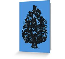 Adventures in Cryptozoology Greeting Card