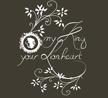 My King, Your Lionheart Womens Fitted T-Shirt