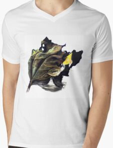 Leafy Leaf Mens V-Neck T-Shirt
