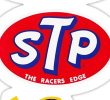 STP Armstrong Bardhal vintage race stickers Sticker