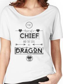 "How To Train Your Dragon 2 ""Heart of a Chief"" Women's Relaxed Fit T-Shirt"