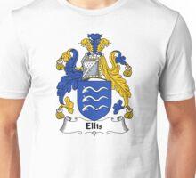 Ellis Coat of Arms / Ellis Family Crest Unisex T-Shirt