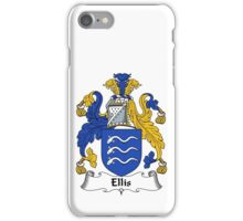 Ellis Coat of Arms / Ellis Family Crest iPhone Case/Skin