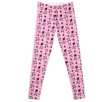 BB:Chaos Witch Pattern [PINK] Leggings