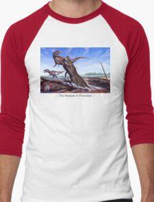 Reaper in Paradise Men's Baseball ¾ T-Shirt