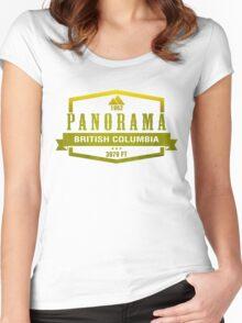 Panorama Ski Resort British Columbia Women's Fitted Scoop T-Shirt