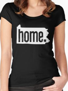 Home State Series | Pennsylvania Women's Fitted Scoop T-Shirt