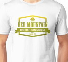 Red Mountain Ski Resort British Columbia Unisex T-Shirt
