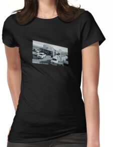 Terracina Restaurant Sign Womens Fitted T-Shirt