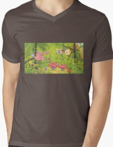 pokemon southern islands artwork 3 Mens V-Neck T-Shirt