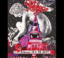 """""""An Evening with Ratdog Valentine's Day 20014"""" by Kevin J Cooper"""