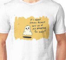 gary the ghost Unisex T-Shirt
