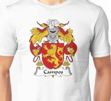 Campos Coat of Arms/Family Crest Unisex T-Shirt