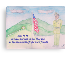 For our Fallen Soldiers Metal Print
