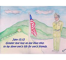 For our Fallen Soldiers Photographic Print