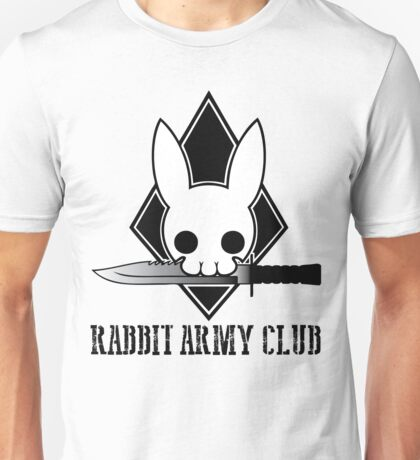 Rabbit Army Club Unisex T-Shirt