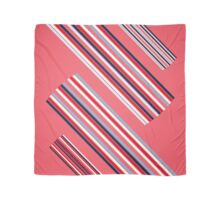 "Vintage Colorful Beautiful Stripes Vintage ""Peach"" eco Edition. NEW Design authentic Collection. Scarf"