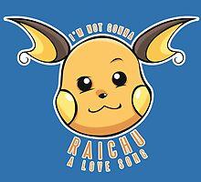 PokéPun - 'Not Gonna Raichu A Love Song' by Alex Clark