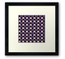Pixel Poodles! Framed Print