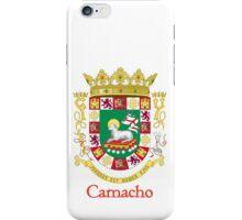 Camacho Shield of Puerto Rico iPhone Case/Skin