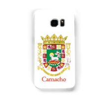 Camacho Shield of Puerto Rico Samsung Galaxy Case/Skin