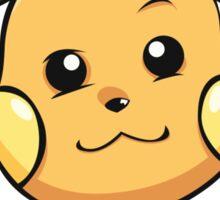 PokéPun - 'Not Gonna Raichu A Love Song' Sticker