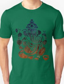 Shri Ganesha Watercolor Design Unisex T-Shirt