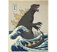 The Great Godzilla off Kanagawa Photographic Print
