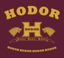 School Hodor (gold) by Karl Angas