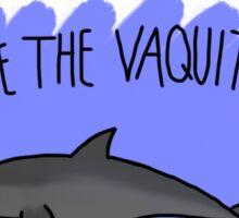 Save the Vaquita Sticker