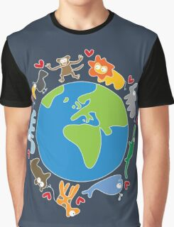 We Love Our Planet ! Graphic T-Shirt