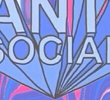 Anti Social Sticker