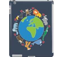 We Love Our Planet ! iPad Case/Skin