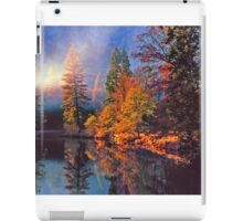 MISTY MORNING MERCED RIVER iPad Case/Skin