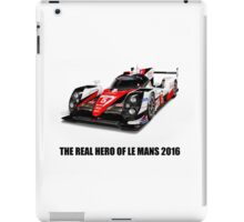 Toyota Le mans 2016 the real hero hommage iPad Case/Skin