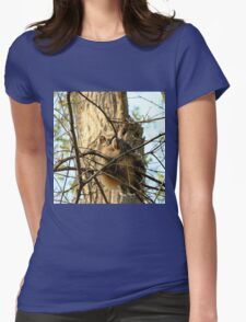 Sitting pretty Womens Fitted T-Shirt