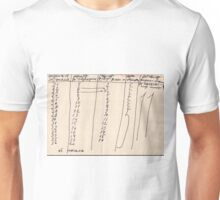 Russian Period Graph Unisex T-Shirt