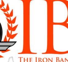 The Iron Bank Sticker
