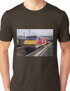 Virgin Trains East Coast 91108 at Peterborough Unisex T-Shirt