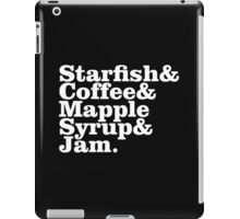 #Starfish & Coffee Prince2 iPad Case/Skin