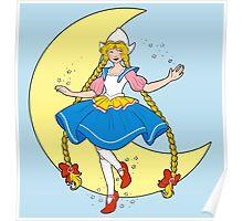 Dutch Sailor Moon (Rie Cramer Inspired) Poster