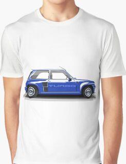 Renault 5 Turbo (blue) Graphic T-Shirt