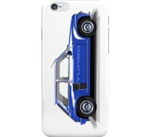 Renault 5 Turbo (blue) iPhone Case/Skin